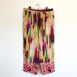 CABi Caravan Colorful Silk Pants with Draw String